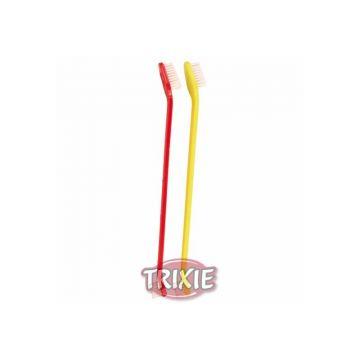 Trixie Zahnbürsten Set, Hund 23 cm, 4 St.