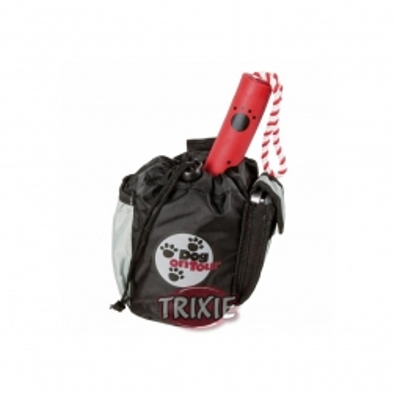Trixie Tasche Baggy  10 × 15 cm, schwarz grau