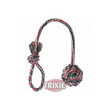 Trixie Spielball am Seil  7 cm 50 cm