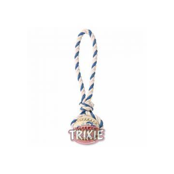 Trixie Naturgummiball am Seil  7 cm 24 cm