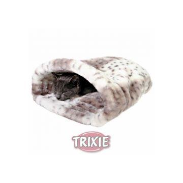 Trixie Kuschelsack Leika, beige weiß