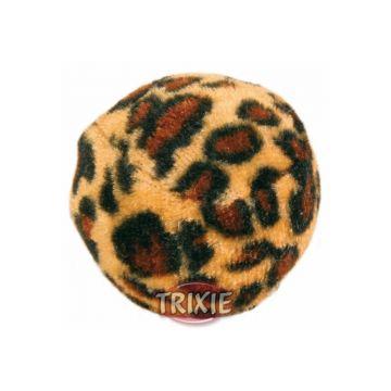 Trixie Spielbälle mit Leopardenmuster  4 cm, 4 St.