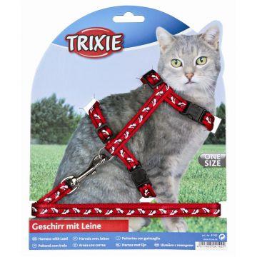 Trixie Katzengarnitur, für alle Katzen, Nylon