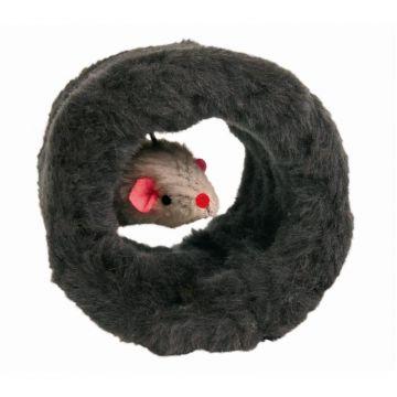 Trixie Spielrolle mit Plüschmaus  8 cm