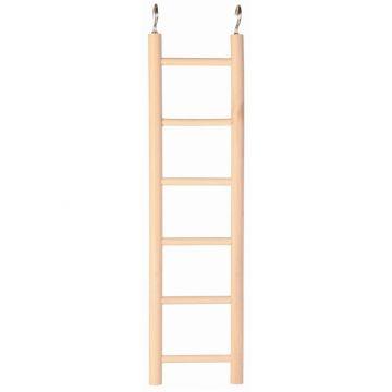 Trixie Holzleiter, 6 Sprossen/28 cm