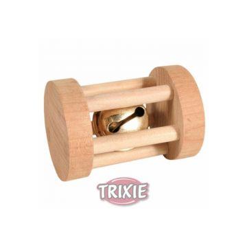 Trixie Spielrolle, Kleintiere, Holz  3,5 × 5 cm