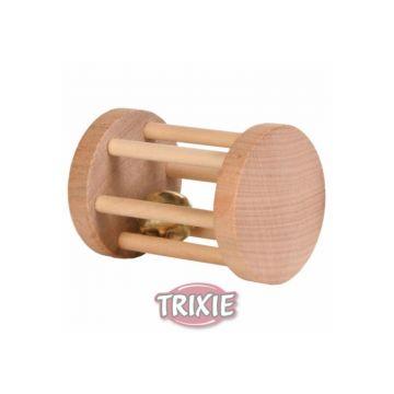 Trixie Spielrolle, Kleintiere, Holz  5 × 7 cm
