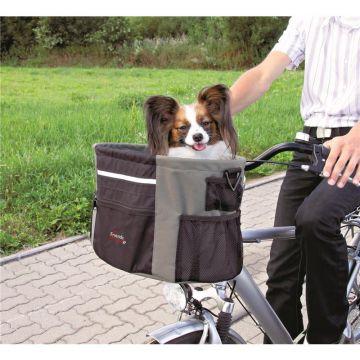 Trixie Biker-Box für Hunde schwarz/grau 38 x 27 x 28 cm, bis zu 7 kg