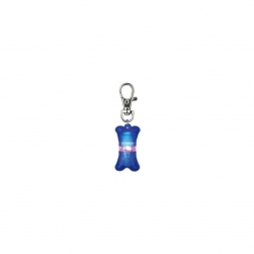 Trixie Flasher für Hunde, blau ca. 2 x 4 cm