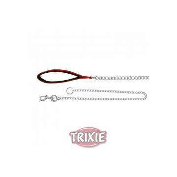 Trixie Kettenleine mit Nylon Handschlaufe