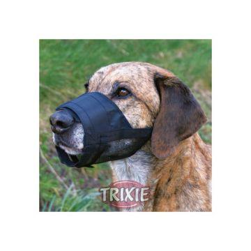 Trixie Maulkorb mit Netzeinsatz M, schwarz