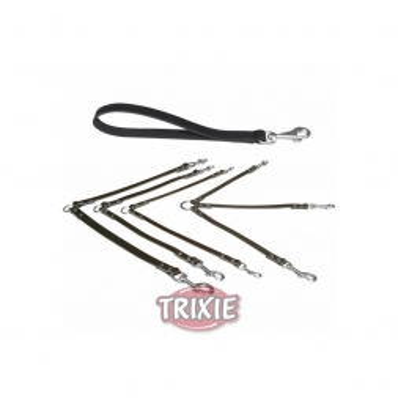 Trixie Basic Kurzführer M bis L: 35 cm 18 mm, schwarz