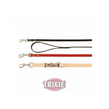 Trixie V Leine Basic M bis L: 2,00 m 18 mm, natur