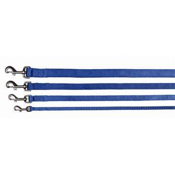 Trixie Premium Leine M bis L: 1,00 m 20 mm, blau