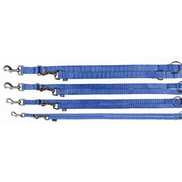 Trixie Premium V Leine L bis XL: 2,00 m 25 mm, blau