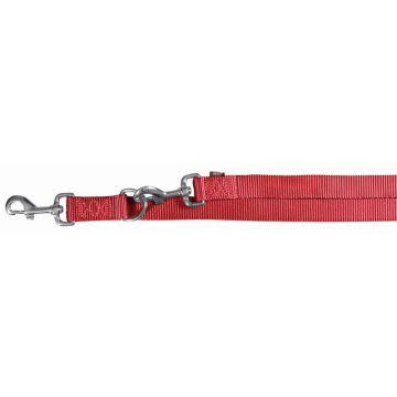 Trixie Premium V Leine L bis XL: 2,00 m 25 mm, rot