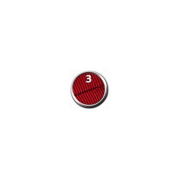 Trixie Premium Comfort Geschirr, M-L: 53-66 cm/40 mm, rot