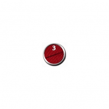 Trixie Premium Comfort Geschirr, L-XL: 68-88 cm/50 mm, rot