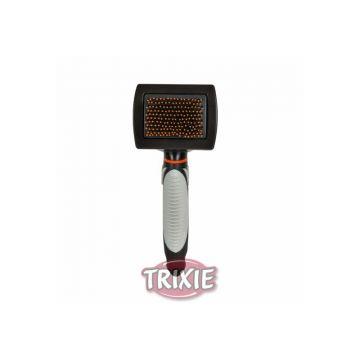 Trixie Softbürste mit Kunststoffborsten und Noppen