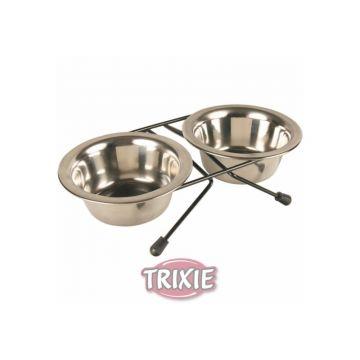 Trixie Eat on Feet Napf Set 2 × 0,45 l  12 cm