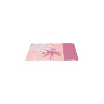 Trixie Kühlmatte Tropic rosa 65 × 50 cm