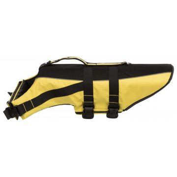 Trixie Schwimmweste gelb/schwarz XL