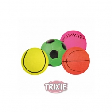 Trixie Spielball, schwimmt, Moosgummi  6 cm (Menge: 24 je Bestelleinheit)