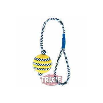 Trixie Ball, mit phosphoreszierendem Seil  5 cm 40 cm