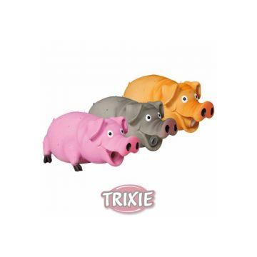 Trixie Borstenschwein, Original Tierstimme, Latex 21 cm