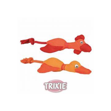 Trixie Huhn Ente mit Seil 38 cm