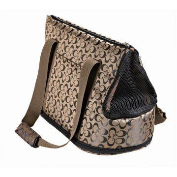 Trixie Tasche Georgia, Nylon, bronze/schwarz