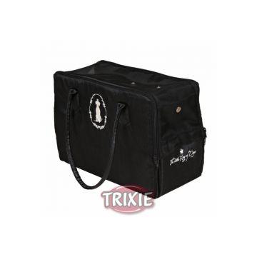 Trixie Hundekönig Tasche, Nylon Plüsch