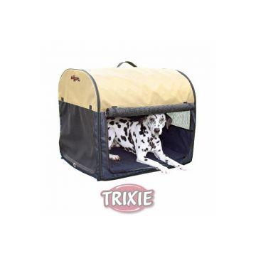 Trixie Transporthütte Gr. 4: dunkelblau hellblau