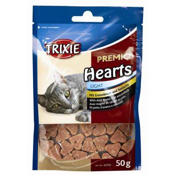 Trixie Premio Hearts, Entenbrust Seelachs 50 g