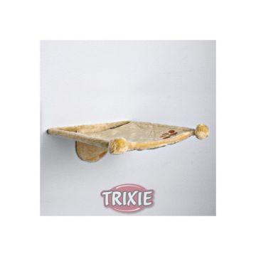 Trixie Plüschmulde zur Wandbefestigung, beige