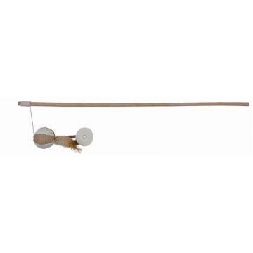 Trixie Spielangel Ball mit Federn 50 cm