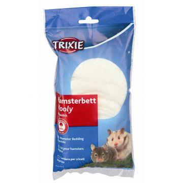 Trixie Wooly Hamsterbett 20 g, weiß