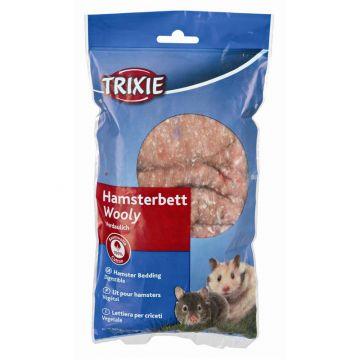 Trixie Wooly Hamsterbett 20 g, braun