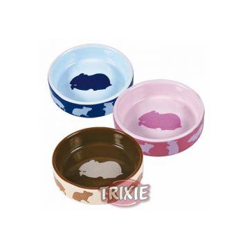Trixie Keramiknapf mit Motiv, Hamster 80 ml  8 cm