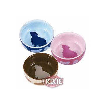 Trixie Keramiknapf mit Motiv, Meerschweinchen