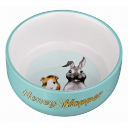 Trixie Honey & Hopper Keramiknapf, 250 ml/d 11 cm