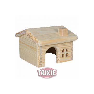 Trixie Holzhaus, Mäuse Hamster 15 × 11 × 15 cm