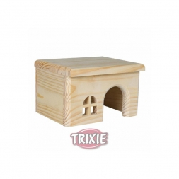 Trixie Holzhaus, Hamster 15 × 12 × 15 cm