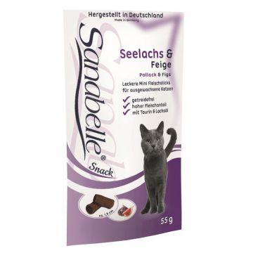 Sanabelle Snack mit Seelachs & Feige 55g