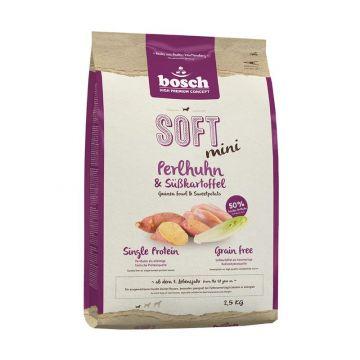 Bosch HPC Soft Mini Perlhuhn & Kartoffel 2,5kg