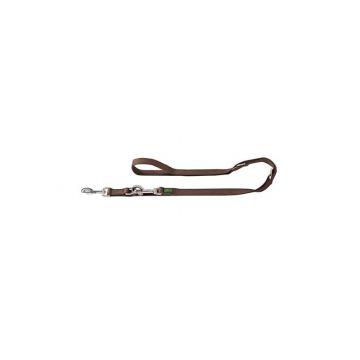 Hunter verstellbare Führleine 15 mm /200 cm braun