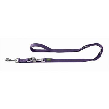 Hunter verstellbare Führleine 15 mm /200 cm violett
