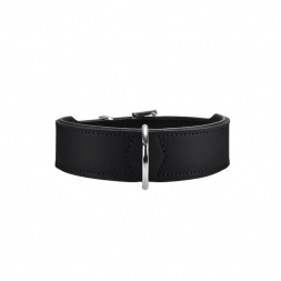 Hunter Halsband Basic 32 schwarz 24 - 28,5 cm / 26 mm