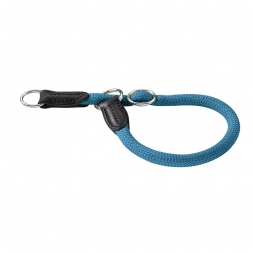Hunter Dressurhalsung Freestyle 45 cm / 10 mm petrol