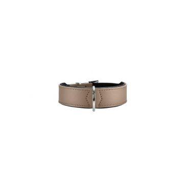 Hunter Halsband Basic 37 stone/schwarz 30 - 34,5 cm / 26 mm